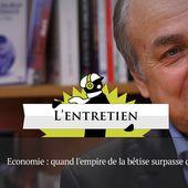 """Jacques Généreux: """"Halte à la Déconnomie!"""""""