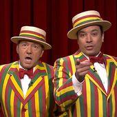 """Kevin Spacey et Jimmy Fallon interprètent """" Talk Dirty """" à leur manière"""