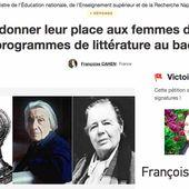 """Najat Vallaud-Belkacem s'engage à """" donner aux femmes toute leur place """" au programme du bac littéraire"""