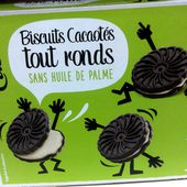 Biscuits Cacaotés tout ronds - Casino - 176 g
