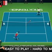 Stick Tennis for iOS, Android and BlackBerry - Stick Sports