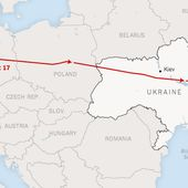 Maps of the Crash of Malaysian Airlines Flight MH17