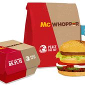 Burger King to McDonald's: Let's Make a 'McWhopper'
