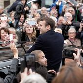 Emmanuel Macron and Marine Le Pen Advance in French Election