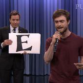 Daniel Radcliffe : rappeur chez Jimmy Fallon