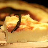 Recette du Flan Vanille sans sucre et sans pâte