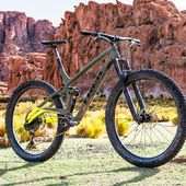 The Full Stache! Trek's New Full Suspension 29 Plus Adventure Trail Bike.