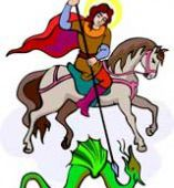 St. George And The Dragon - Storynory free audio story