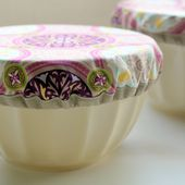 Purple Potluck Bowl Covers - The Cottage Mama