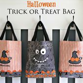 Halloween Trick or Treat Bag Pattern - The Cottage Mama