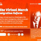 Silicon Valley and NYC Mayor Bloomberg launch 'March for Innovation' to help reform US immigration