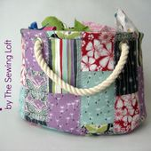 Stackable Scrap Bucket Pattern - The Sewing Loft