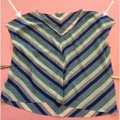 Chevron bias top tutorial #GBSB | The Thrifty Stitcher