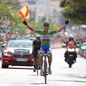 Vuelta 2017 - Le sprinteur Matteo Trentin vainqueur en montagne