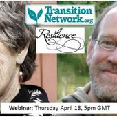 """Coming next week: a webinar with Joanna Macy and Chris Johnstone """" Transition Culture"""