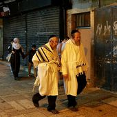 WATCH: Shouting Out to God at the Western Wall