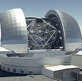 European Extremely Large Telescope - Wikipedia, the free encyclopedia