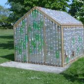 How to Build a Greenhouse Made From Plastic Bottles