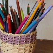 "Kit "" POT À CRAYONS """