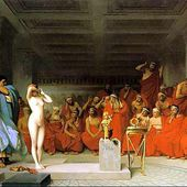 Jean-Leon Gerome, Orientalism, born 11 May 1824 - died 1904