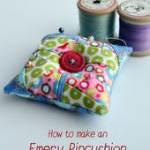 How to make an emery pincushion - vicky myers creations