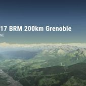 Relive '05/03/2017 BRM 200km Grenoble'