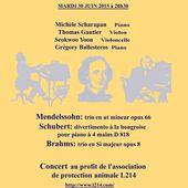 Concert au profit de L214 | Éthique et animaux