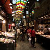 Marché Nishiki - Mon petit voyage à Kyoto