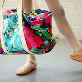 How to Make a Ruffle Duffle Bag * WeAllSew * BERNINA BLOG
