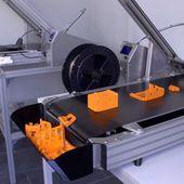 Blackbelt, la première imprimante 3D dotée d'un tapis roulant - 3Dnatives