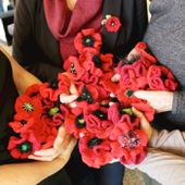 Can you knit or crochet? The War Memorial needs your help