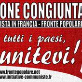 France, Italie, les communistes pour la sortie de l'Union Européenne !