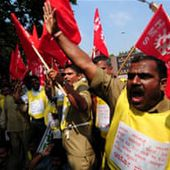 Millions strike in India over high prices