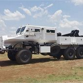Denel of South Africa launches new 6x6 recovery vehicle Casspir Eland ordered by Angola 12901162   weapons defence industry military technology UK   analyse focus army defence military industry army