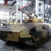 UkrOboronProm unveiled T-64-based Infantry Fighting Vehicle prototype | weapons defence industry military technology UK | analyse focus army defence military industry army