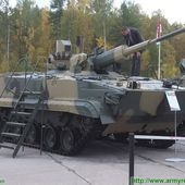 New BMP-3 IFV fitted with a gun mount system AU-220m armed with a 57mm automatic cannon 10909152   RAE 2015 News Official Online Show Daily Coverage   Defence security military exhibition 2015