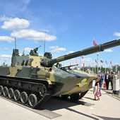 Russian defense industry unveils new Sprut-SDM1 tracked armoured tank destroyer at Army-2015 12106151 | weapons defence industry military technology UK | analyse focus army defence military industry army