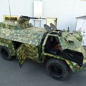 Ukraine defense industry develops OVOD new concept of armour modules for all-terrain vehicles 12410154 | weapons defence industry military technology UK | analyse focus army defence military industry army