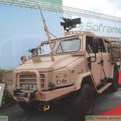 Outfielder light fast attack vehicle Special Forces technical data sheet specifications pictures video 12706162 | French army france wheeled armoured vehicle UK | French army military equipment vehicle UK