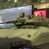 KAPLAN-20 new generation of armored fighting vehicle showcased for the first time by FNSS at IDEF 050506158 | IDEF 2015 Show Daily News Coverage Report | Defence security military exhibition 2015