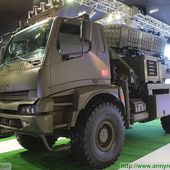 Roketsan T-107/122 MBRL highly mobile surface to surface rocket system at IDEF 2015 06051514 | IDEF 2015 Show Daily News Coverage Report | Defence security military exhibition 2015