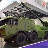 DSEI 2015: Nexter's brand new 8x8 Caesar self-propelled howitzer starring in London 21809151 | DSEI 2015 News Online Show Daily Coverage Report U | Defence security military exhibition 2015