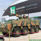 Kazakhstan Paramount Engineering unveils Barys 8x8 armoured infantry fighting vehicle at KADEX 10306163 | KADEX 2016 Official Online Show Daily News | Defence security military exhibition 2016 daily news category