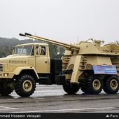 New Bahman 57mm 6x6 self-propelled anti-aicraft twin gun unveiled by Iranian armed Forces 11404162 | weapons defence industry military technology UK | analyse focus army defence military industry army