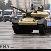 Iran has unveiled new home-made main battle tank called TIAM 11404161 | weapons defence industry military technology UK | analyse focus army defence military industry army