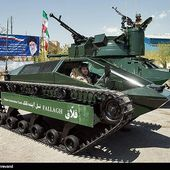 The new Iranian-made Fallagh ultra-light tracked combat vehicle with remote weapon station. | weapons defence industry military technology UK | analyse focus army defence military industry army