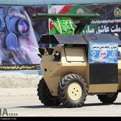 Iranian defense industry unveils Nazir Nazeer UGV Unmanned Ground Vehicle armed with missile | weapons defence industry military technology UK | analyse focus army defence military industry army