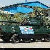 Iran unveils the Aghareb or Aqareb a new 8x8 armoured vehicle armed with a 90mm cannon | weapons defence industry military technology UK | analyse focus army defence military industry army