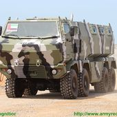 KrAZ and Streit Group unveil new Hurricane 8x8 armoured personnel carrier at IDEX 2015 | weapons defence industry military technology UK | analyse focus army defence military industry army