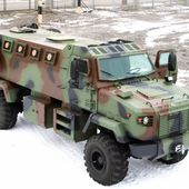 New KrAZ-5233 Shrek 4x4 armored vehicles of Ukrainian army ready to be deployed in the frontline | February 2015 Global Defense Security news UK | Defense Security global news industry army 2015